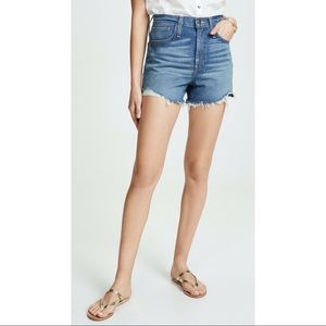 MADEWELL THE PERFECT VINTAGE DENIM SHORTS SZ 28